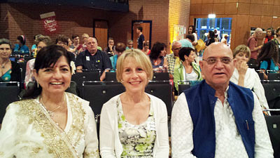 Dr. Madan Kataria und seine Frau Madari, Global Laughter Conference 2017, Frankfurt